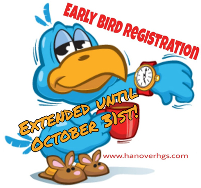 Early Bird Registration before September 30